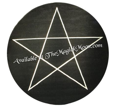 pentagram rug pin by lillian dean on witchy