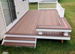 pvc deck low maintenance decks traditional deck baltimore