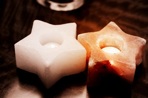 himalayan salt tea light holder benefits himalayan salt star tea light holder white so well