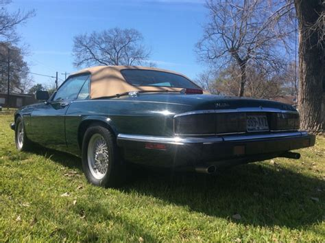 1992 jaguar xj s 5 3l v 12 convertible for sale