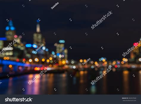 bokeh friday lights abstract background from