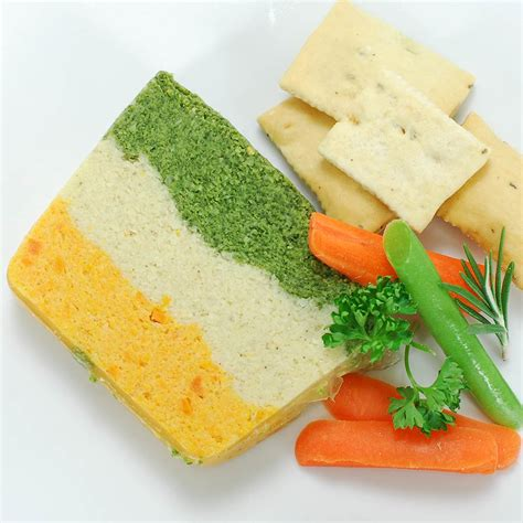 m s layered vegetables three layer vegetable pate size by fabrique