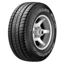 Tires At Walmart Goodyear Goodyear Wrangler Sr A Tire Walmart