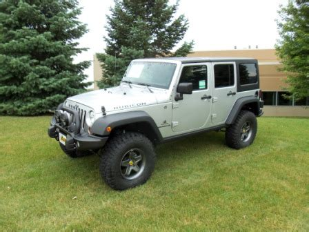 Uftring Jeep New Aev 2011 Silver Rubicon Jk231s American Expedition