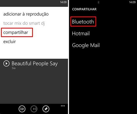 como compartilhar musicas no nokia lumia 530 saiba como passar m 250 sica por bluetooth nos smarts nokia