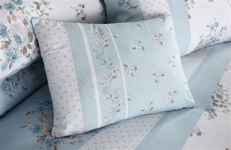 Duck Egg Bed Sets Elodi Duck Egg Blue Floral Duvet Covers Bedding Quilt Set Bedspread