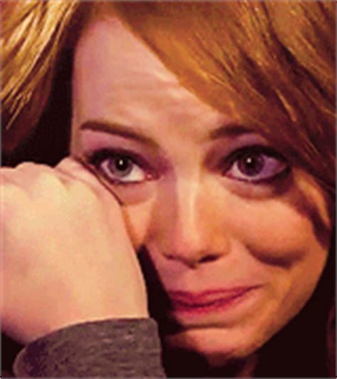 emma stone gif on tumblr emma stone crying gif find share on giphy