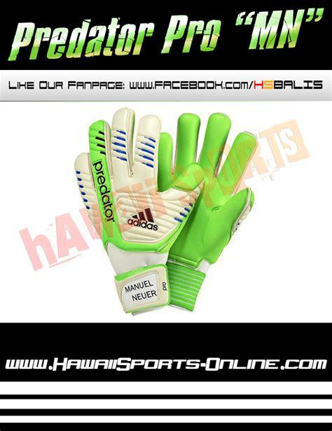 Beli Sarung Tangan Kiper Futsal toko olahraga hawaii sports sarung tangan kiper adidas predator pro manuel neuer glove macaw