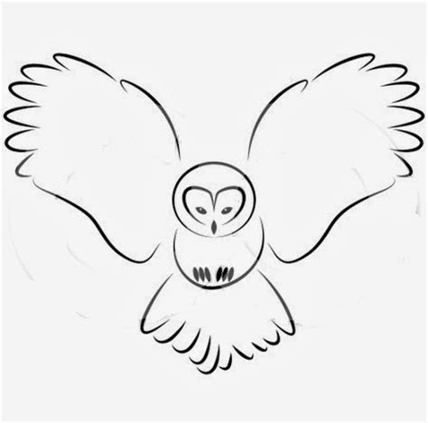 Owl Outlines Drawings by Tattoos Book 2510 Free Printable Stencils Owl Stencils