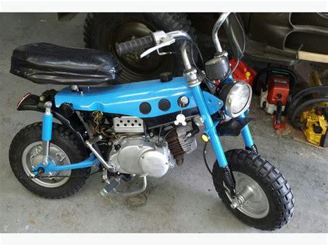 Suzuki Mini Bikes 1972 Suzuki Trailhopper 50cc Mini Bike Outside