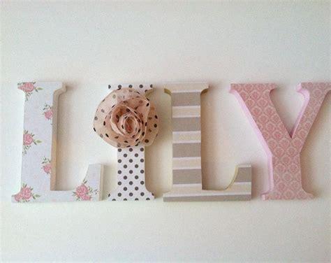 decoracion dormitorio letras letras de madera para dormitorio deletrear el nombre de su