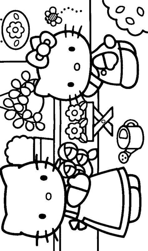 pudgy bunny coloring pages pudgy bunny s hello kitty coloring pages