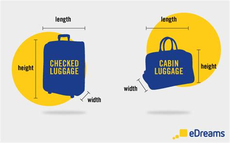 ryanair cabin baggage size luggage and checked baggage allowance by airline