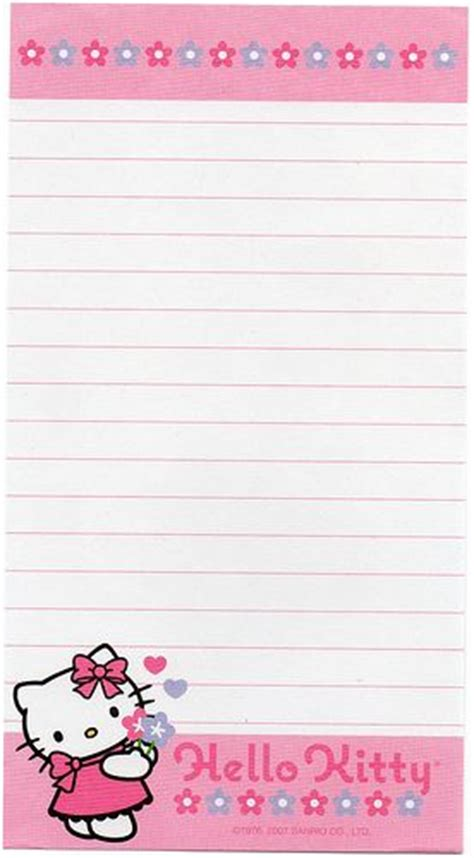 free printable hello kitty lined paper click to enlarge free printable adult game s