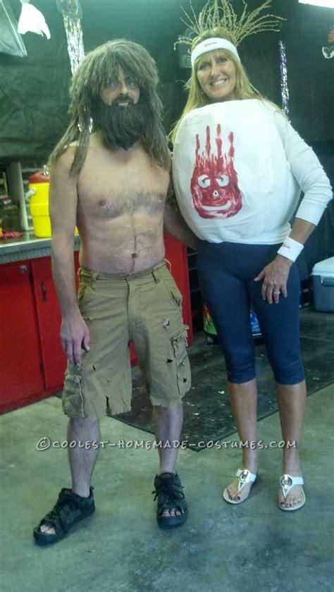 castaway  wilson diy couple costume