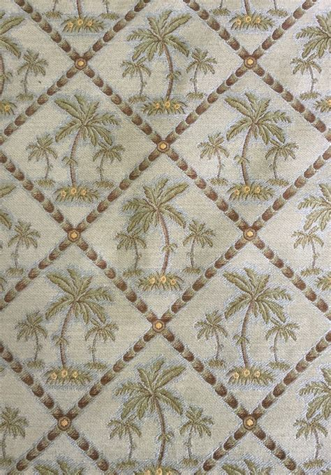 palm tree upholstery fabric palm trees sea foam green upholstery fabric by the yard