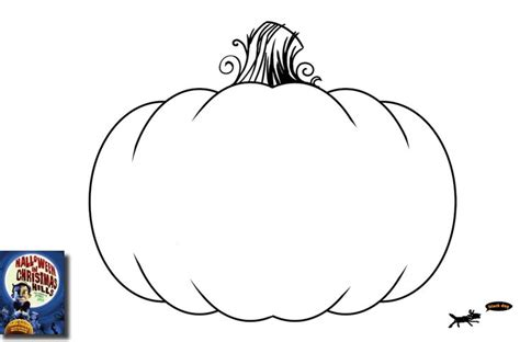 blank pumpkin coloring pages to print 5 best images of free halloween printable pumpkins outline