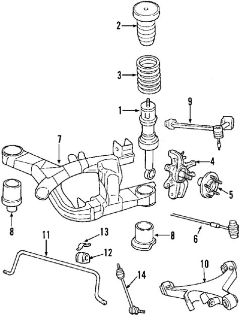 lincoln ls parts diagram 2001 lincoln ls parts ford factory parts genuine ford