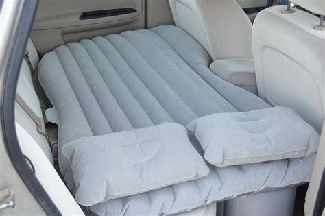 car air mattress and portable travel mattress amazing new way to sleep on the