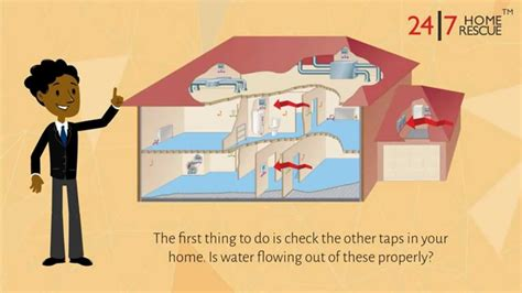 no hot water in house why is no water coming out of my hot water tap 24 7 home rescue youtube