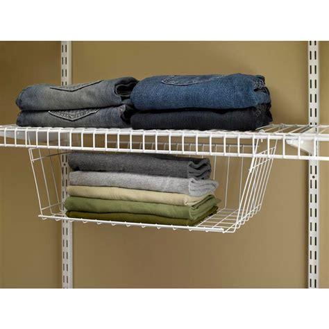 Closetmaid Hanging Wire Shelf Hanging Closet Wire Shelves Roselawnlutheran