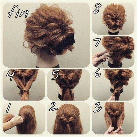 step by step tutorial on seeing curly weave best 25 easy updo tutorial ideas on pinterest hair updo