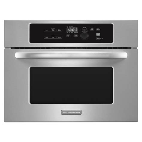 kitchenaid kbms1454bss 24 stainless steel built in