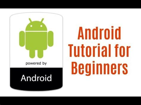 android tutorial android tutorial learn android development