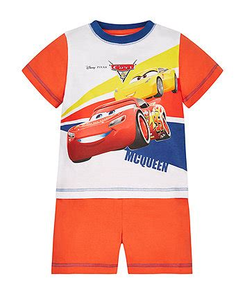 Mc Pyjamas Car boys pyjamas pyjama tops bottoms mothercare uk