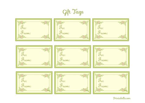Free Printable Baby Shower Gift Tags by Free Vintage Baby Shower Printables From Printabelle
