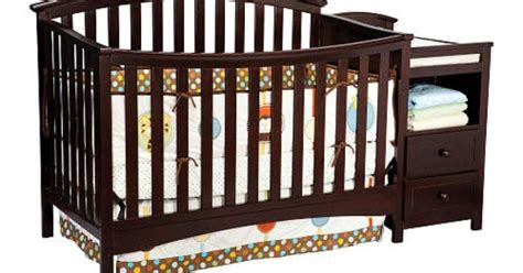 Delta Cambridge Crib And Changer by Delta Delaney Crib Changer Chocolate Babies And Nursery