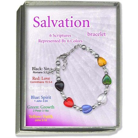 salvation bracelet color meaning 1000 images about christian gift for on