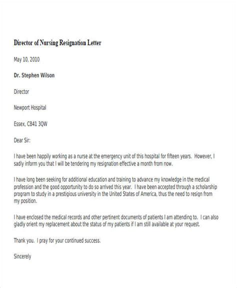 Resignation Letter Of Director Of A Company by 33 Resignation Letters Sles Templates In Pdf