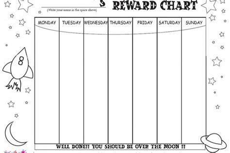 netmums printable reward charts reward charts to print and colour in netmums