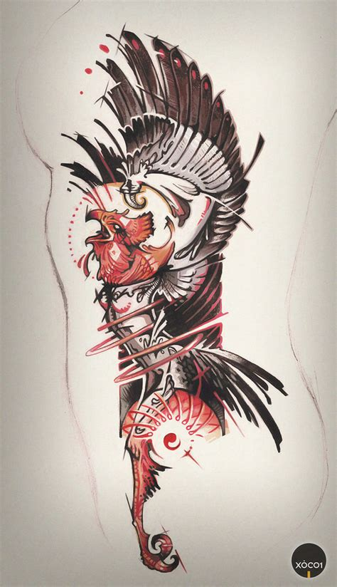digital tattoo design by xocol4t4 on deviantart