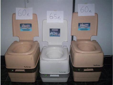 toilette pide wc portatil o inodoro quimico para barcos o caravanas de