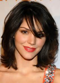 layered medium lenght hair with bangs hairstyles easy and simple hairstyles layered medium length