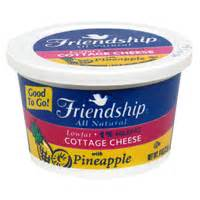 cottage cheese and pineapple calories calories in friendship cottage cheese with pineapple
