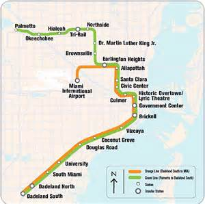 Miami Metro Rail Map by Is Miami A World Class City Nightlife Walmart Ranking
