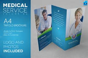 Free medical brochure templates bilder galerie26 best photos tri fold brochure template free indesign un mission resume and pronofoot35fo Images