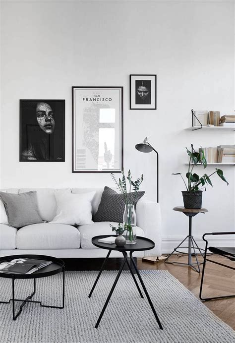 white home interiors best 25 monochrome interior ideas on black