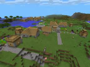 Villages blacksmith has emeralds epic minecraft pe seeds