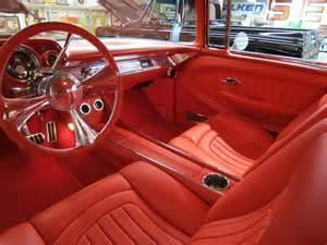 1957 custom leather interior