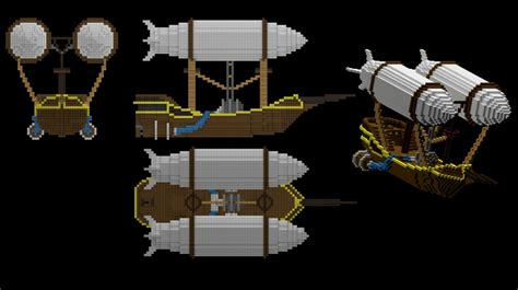 flying boat d minecraft project - Flying Boat Minecraft