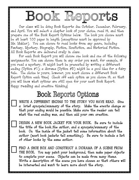 third grade book report forms 16 best images of 3rd grade book report worksheet 3rd