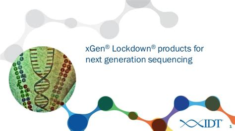 xgen 174 lockdown 174 products for next generation sequencing