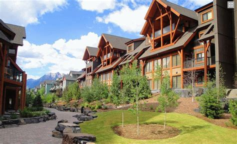 Canmore Accommodations Cabins by Solara Resort Spa Canmore Hotel Accommodation