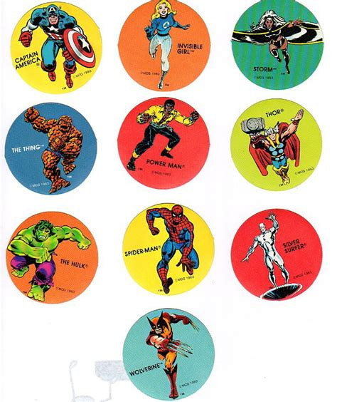 printable marvel stickers super hero super hero stickers
