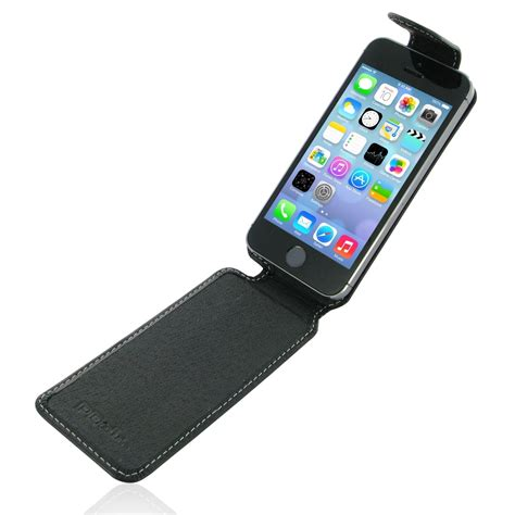 Iphone 5 5s Leather iphone 5 5s leather flip top carry pdair sleeve