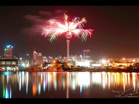 happy new year from new zealand yes i know the fireworks